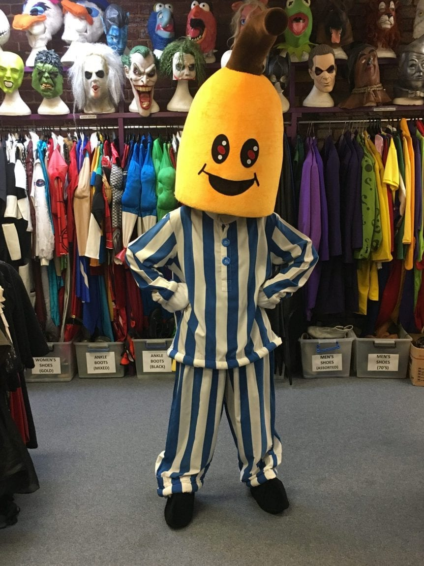 BANANA IN PJ'S (MASCOT)