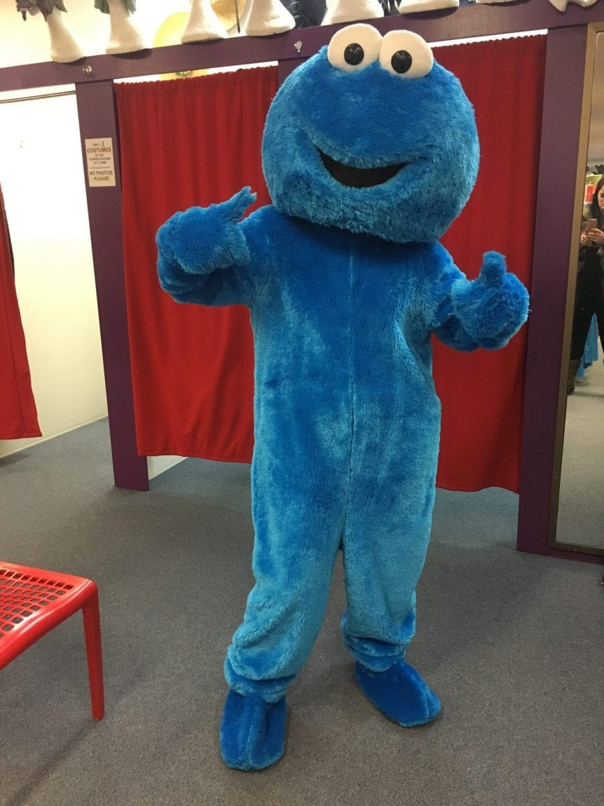 COOKIE MONSTER (MASCOT)