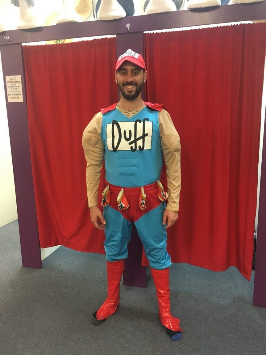 DUFFMAN (SIMPSONS)